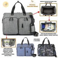 Diaper Bag XTRA LARGE ORIGINAL ENGLAND BRAND Tas Bayi Tote Sling Bag