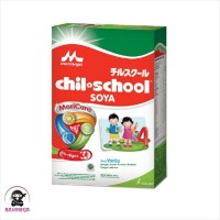 MORINAGA Chil School Soya 4 Vanila Susu Box 300g / 300 g