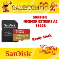 Sandisk Memory MicroSD Extreme A2 4K UHD 256GB Sandisk Indonesia
