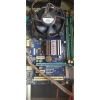 Motherboard Gigabyte G41 LG 775 DDR3 plus Procy E8400 dan Fan