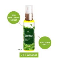 ZAM x ZM Hand Spray 70% Alcohol With Basil Leaves Extract