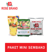 Paket Mini Sembako Rose Brand