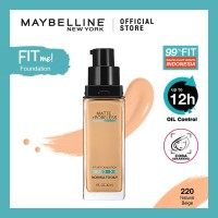 Maybelline Fit Me! Matte + Poreless Liquid Matte Foundation Make Up