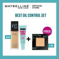 Maybelline Fit Me Matte & Poreless Liq Foundation 220 Natural Beige +