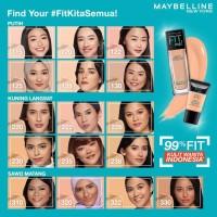 Maybelline Fit Me MATTE + Poreless Foundation 18mL TUBE Travel Size