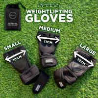 Gym Gloves Svarga | Sarung Tangan Fitness | Weight Lifting Gloves - M