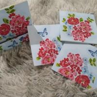 Coaster/Tatakan gelas Decoupage