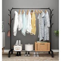 Rak Gantung Single Pole Cloth Hanger - GHR006