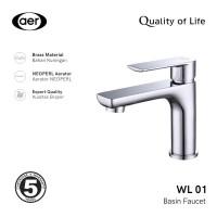 AER Kran Wastafel Air Dingin-Keran Kuningan / Cold Faucet WL 01