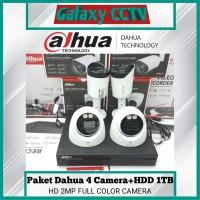 Paket 4 Camera 2MP Full Color Lite Series+Hardisk 1 TB Lengkap