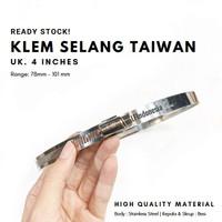 "Kleman 4 "" / klem 4 inch (100 mm)"
