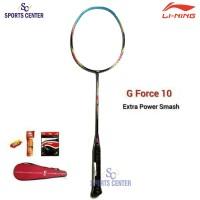 BEST DEAL Raket Badminton Lining G Force 10 / G-Force 10 FULLSET