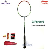 BEST DEAL Raket Badminton Lining G Force 9 / G-Force 9 FULLSET