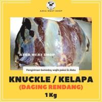 daging sapi knuckle / kelapa