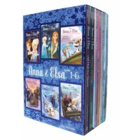 Frozen 6pcs books Anna and Elsa Sisterhood is The Strongest Magic