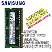 RAM SAMSUNG SODIMM DDR3 8GB PC 12800 / 1600 MHZ