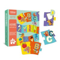 TweedyToys - Mideer Puzzle Lantai - Alfabet