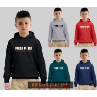 jakey sweater hoodie anak game free fire battleground - import quality - M