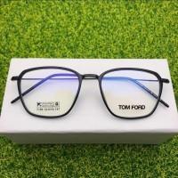 Kacamata anti radiasi | Paket lensa photocromic Blueray | 2189 - Hitam