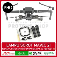 ✅ LAMPU SOROT DEPAN DRONE DJI MAVIC 2 PRO ZOOM HEADLIGHT LED SENTER