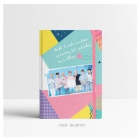 Basic Notebook KPOP BTS/ Custom Notebook/ Planner Dotted/ Grid/ Journa