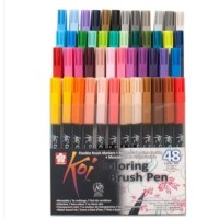 Sakura Koi Coloring Brush Pen - 48 Color Set