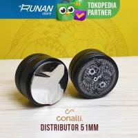 Distributor OCD 51mm ONA Wave Coffee Tamper Hitam Conalli Delonghi ACA