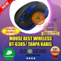BEST MOUSE WIRELESS BT6385/TANPA KABEL BT-6385-MURAH DAN BERKUALITAS