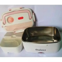Kotak Makan siang lunch box Elektrik Dodawa DD-2502 Bahan stainless