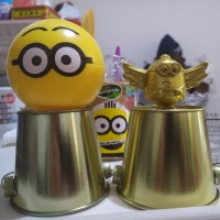HAPPY MEAL MCD MINION MINIONS WINGS GOLD 31