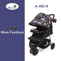Stroller Labeille Flour A-503N Stroller Baby Murah Kereta Dorong Bayi