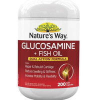 Natures Way Glucosamine + Fish Oil isi 200 caps