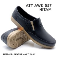 Sepatu Pantofel Karet Pria / Sepatu Karet Pria Formal ATT AWK 557