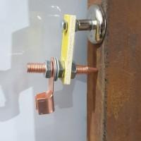 Klem Tang Las Magnet untuk Kabel Massa Mesin Travo Las Listrik