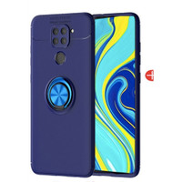 Casing Autofocus Ring Magnetic Case Xiaomi Redmi Note 9