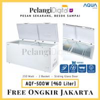 AQUA Chest Freezer 460 Liter - AQF-500(W) - Analog