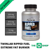 Twinlab Ripped Fuel Extreme Fat Burner [60 Capsule] 100% Ori