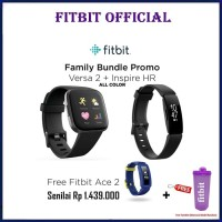 Fitbit Family Bundle Versa 2 + Inspire HR