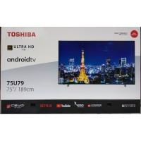 Led Tv Toshiba 75 Inc Smart Android 4K ( 75u7950 )