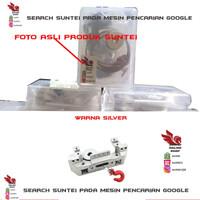 Rc Servo Mount Bracket W/ Winch Spool KIT TRX4/SCX10/D90 - SILVER