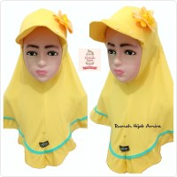 Jilbab Hijab Instan Airish Topi Anak JILTOP Bunga