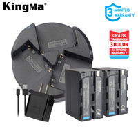 Baterai Kit KINGMA Sony NP-F970 2-pack With Triple Charger