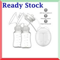 Pompa Asi Breast Pump Elektrik BPA FREE Dua Corong Double Intelligent