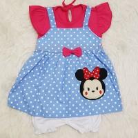 Baju Anak Bayi Perempuan Dress Overall Tsum2 Love