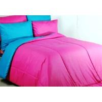 Sprei Polos Premium 160 Pink Tosca