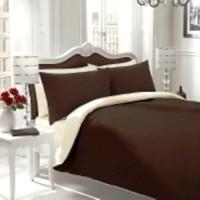 Sprei Polos Premium 160 Brown White