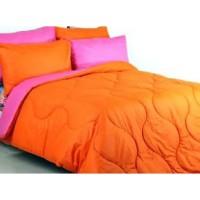 Sprei Polos Premium 160 Orange Pink
