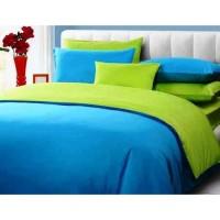 Sprei Polos Premium 160 Blue Green