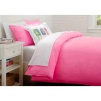 Sprei Polos Premium 160 Pink White