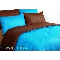 Sprei Polos Premium 160 Tosca Brown